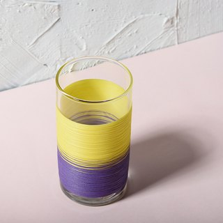 Line processing PUNNDLE line cup color yellow section purple tone