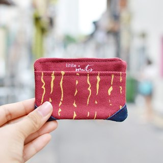 Rain Canvas Card Case