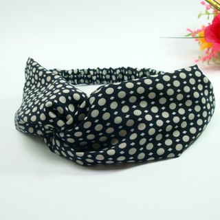 Wide ribbon scarf Hairband*SK*