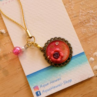 CUTE Beauty & Adorable for Endearing best gift Red Rose Key Chain Ring Charm