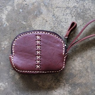 Patchwork Leather Coin / Card Bag