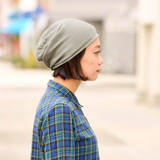 Made in JAPAN 100% Organic Cotton Slouchy Beanie - No Seams - Chemo Hat