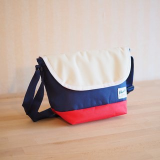 SIDEBAG Navy / Red / Beige