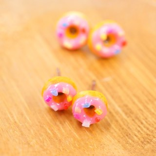 *Playful Design* Strawberry Donuts Earrings
