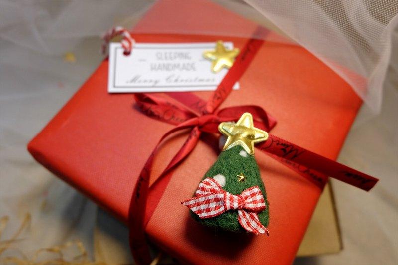 聖誕禮物 交換禮物 【為你掛上小星星】包掛/鑰匙圈