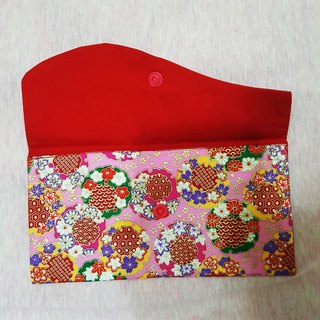 Elegant bouquet Happy New Year red envelopes *