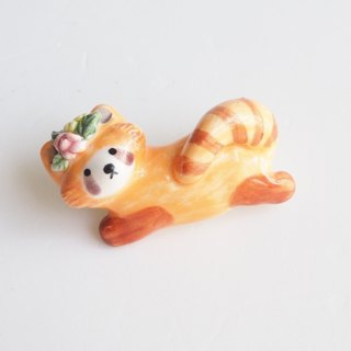 The Red Panda Pin
