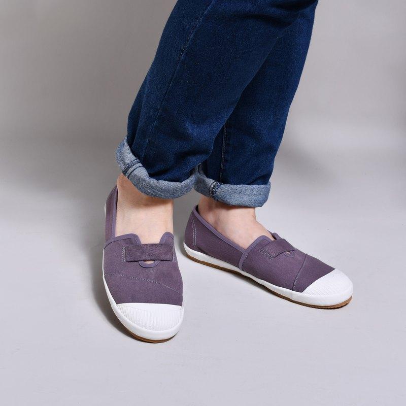 懶人鞋-新BETTY茄紫灰