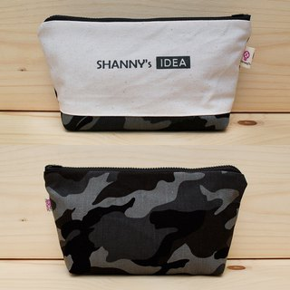 Customized _ plain color camouflage large storage bag / large pencil case