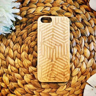 Green CHING newly opened Taiwan local Free shipping logs Muke exclusive customized mobile phone shell sculptured iPhone Simple Technology Limited (i5 / s / i6 / s / i6plus / s)