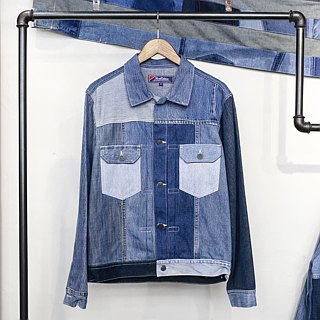 Denim Patchwork Remade 2nd Edition Jacket