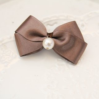 Pink earth color bowknot