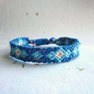 Star lucky rope woven bracelet (optional color)