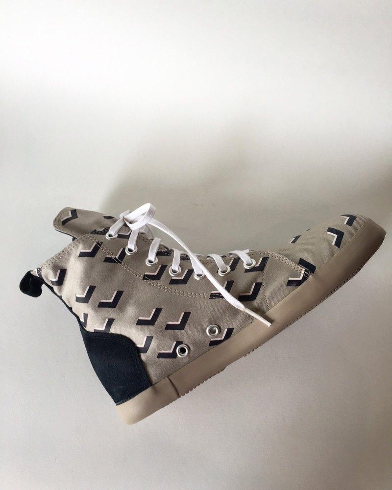 新品 ! ! 三角鷹款 No4 / 靴型帆布鞋 / 短靴