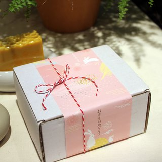 Natural taste _ Mid-Autumn Festival double good limited group _ soap box set of handmade soap
