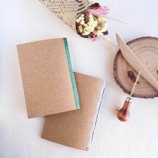 Saddle-stitched kraft paper set chapter (big book 2 into) handmade book notebook line book handbook
