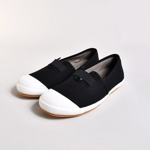 Good to wear with the look can feel BETTY black easy to wear off / lazy shoes / natural wind / canvas shoes / national casual shoes / Taiwan good products