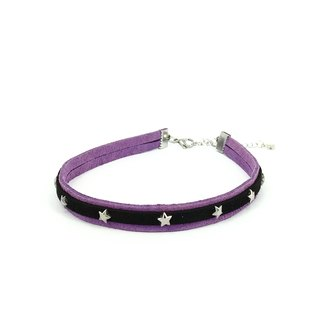 Purple Star Necklace