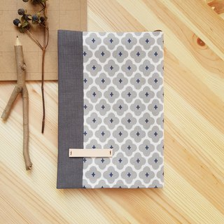 A5/25K adjustable cloth book grey geometry