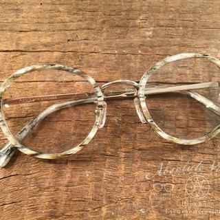 Absolute Vintage - Theatre Lane (theater) Immature pear-shaped retro glasses - marble Marble