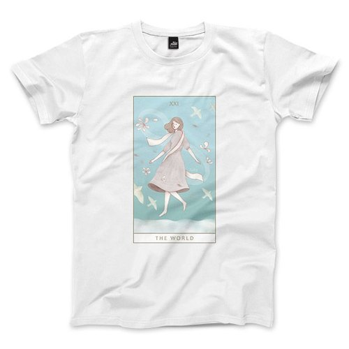 XXI | The World - White - Unisex T-Shirt