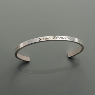 Frankness | 925 sterling silver women's bracelet 4mm-couple / rose gold / handmade / gift / customization