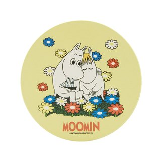Moomin Moomin authorization - water coaster: [] Fall in love (round / square)