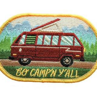 Forest & Waves Embroidery / Camper