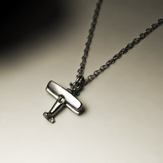 """Little Biplane Necklace"""