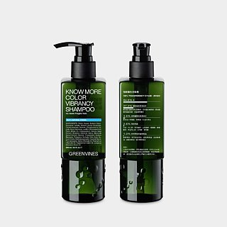 Tough color shampoo - hair silk strong and not broken effective color protection