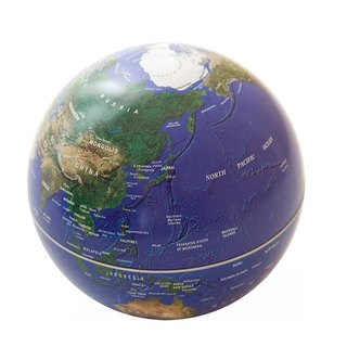 6 INCH ROTATING GLOBE (3 COLOR)