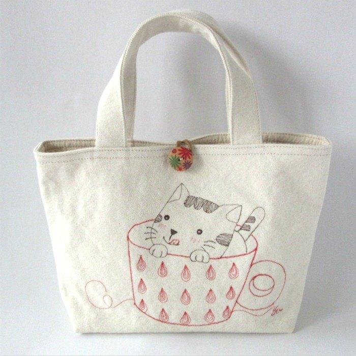 特惠款 貪吃貓─手提包