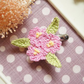 Hand-woven flowers series - secret garden sweet wind two-use hairpin / hair accessories / pins ~