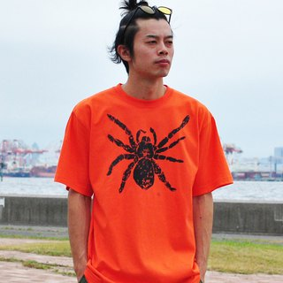 Tarantula Men's t-shirt Orange S M L XL 2XL 3XL