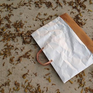 Tote Bag Thin : Tyvek and Kraft paper bag