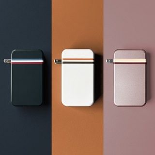 [send mobile phone case] ENABLE Traveler+ travel charging power supply 10400 aluminum alloy