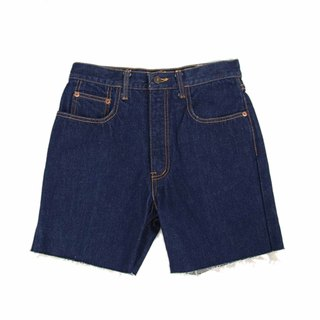 Tsubasa.Y Vintage color texwood006, Denim Shorts, Denim Shorts