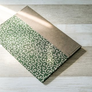 [Paper made possible] fabric mix n match series notebook set