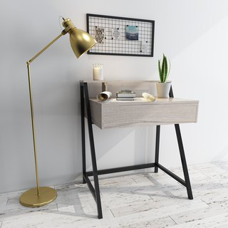Nordic aesthetic single pumping personal desk