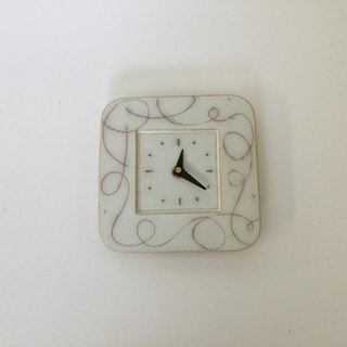 The Square Wall Clock   line