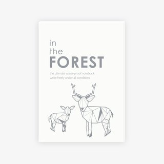 【IWI】SAW note 超能筆記本-森林IWI-NOTE BOOK-FOREST