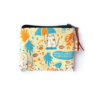 Cat Umbrella Coin Bag