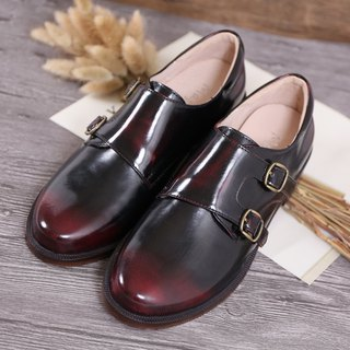 Maffeo high-quality leather saddle leather and fashion oxford shoes
