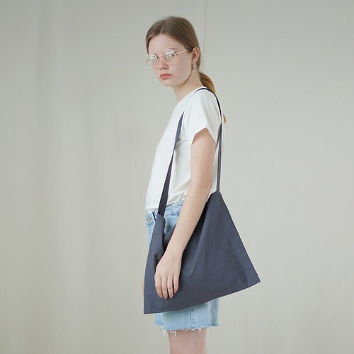 Two-color cloth bag