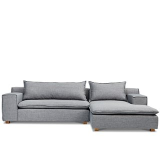Oslo graphite gray AJ2 │ │ │ L-shaped sofa