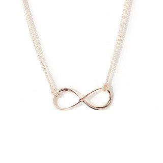 愛。無限 項鍊 Infinity。Love Necklace