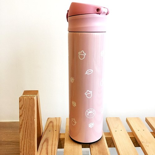 FiFi thermos 480ml- autumn fruits (pink)