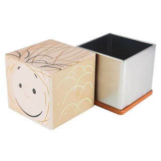 Snoopy Tin Storage Box - Ball Pong [Hallmark-Peanuts Snoopy Storage/Others]