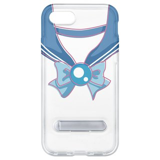 Sailor suit light blue hidden magnet bracket iPhone 8 plus 7 Plus 6 plus phone case