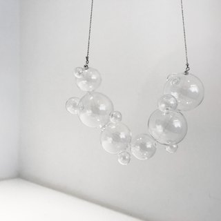 Glass Bubble Necklace